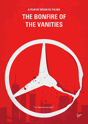 Digital Art - No955 My The Bonfire Of The Vanities Minimal Movie Poster by Chungkong Art