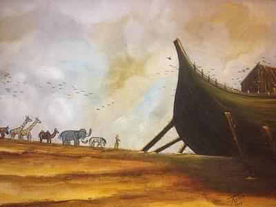 Noah Ark  Original by Fernando Diaz