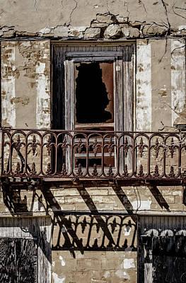 Photograph - Noah Cox Balcony  - Roma Texas by Debra Martz