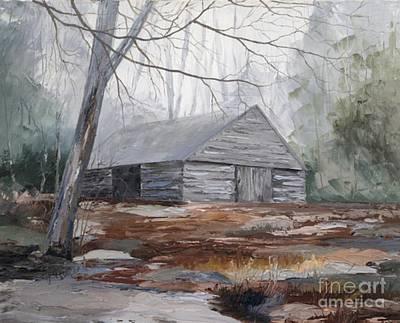 Noah Ogle Barn Art Print by Blackwater Studio