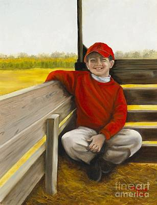 Painting - Noah On The Hayride by Marlene Book