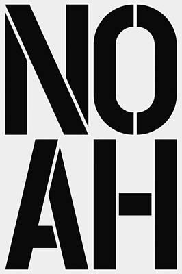 Noah Painting - Noah by Three Dots