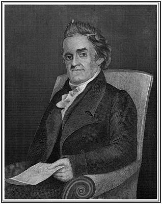 Photograph - Noah Webster Portrait by Phil Cardamone