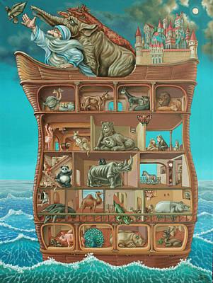 Noahs Arc Art Print