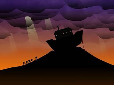 Noah's Ark Discovery Art Print