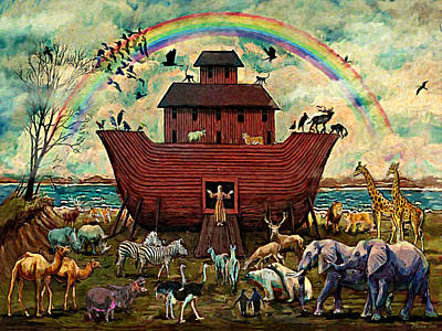 Digital Art - Noah's Ark by Frank Harris