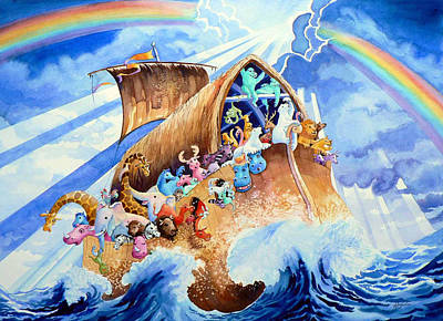 Noahs Ark Original by Hanne Lore Koehler