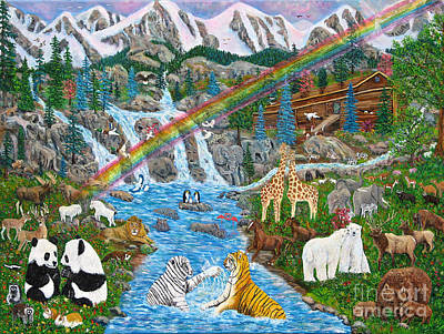 Noah's Ark Original by Mike De Lorenzo