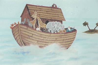 Painting - Noah's Ark by Suzn Art Memorial