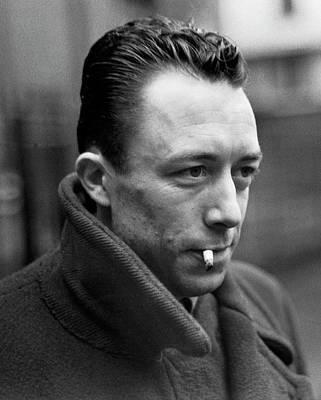 Nobel Prize Winning Writer Albert Camus Unknown Date #1 -2015 Art Print by David Lee Guss