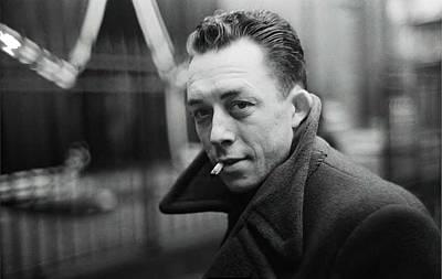 Nobel Prize Winning Writer Albert Camus  Unknown Date-2015           Art Print by David Lee Guss