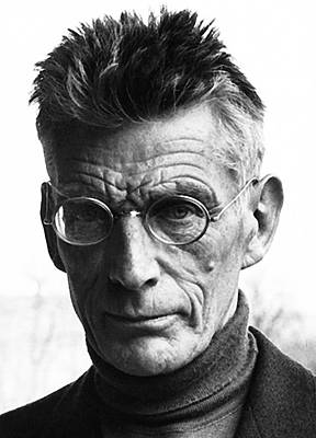 Moody Trees Rights Managed Images - Nobel prize winning writer Samuel Beckett unknown date Royalty-Free Image by David Lee Guss