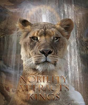 Digital Art - Nobility by Bill Stephens