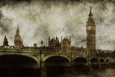 Big Ben Photograph - Noble Attributes by Andrew Paranavitana