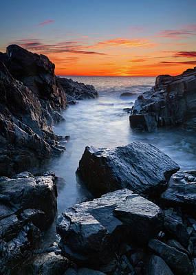 Photograph - Noble Boulders - Vertical by Michael Blanchette