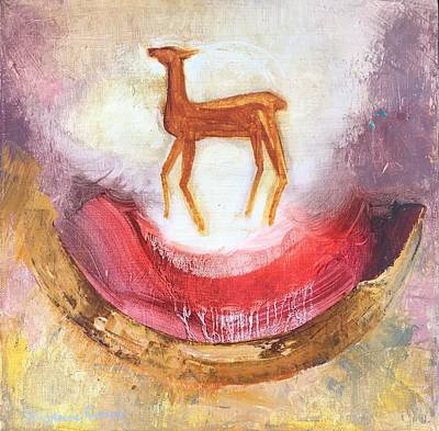 Painting - Noble Deer by Suzanne Cerny