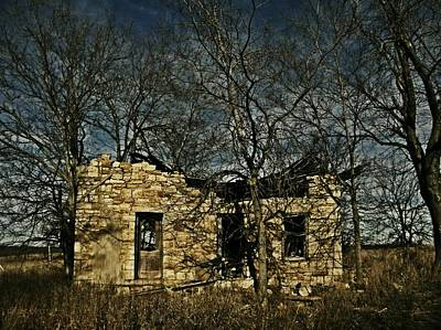 Old Abandoned Farmhouse Photograph - Nobody Is Home by Chris Berry