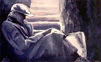 Monotone Painting - Nobody Likes Me by Patricia Ann Dees