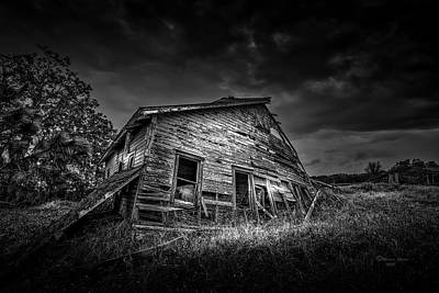 Abandoned House Wall Art - Photograph - Nobody's Home by Marvin Spates