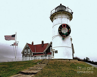 Photograph - Nobska Light by Janice Drew