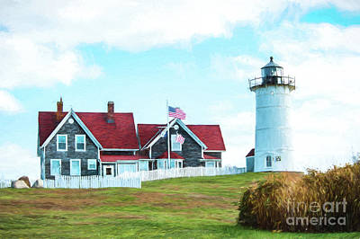 Photograph - Nobska Light by Michael James