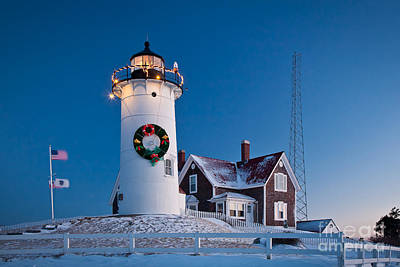 Photograph - Nobska Light by Susan Cole Kelly