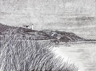 Nobska Lighthouse Art Print