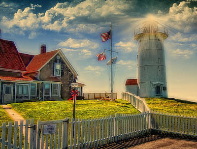 Photograph - Nobska Lighthouse IIi by Gina Cormier