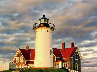 Photograph - Nobska Lighthouse by Maria Coulson