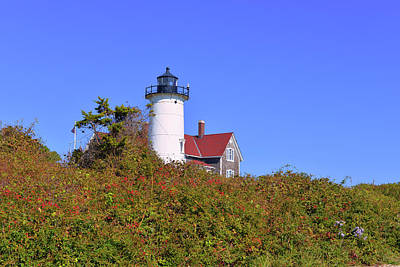 Photograph - Nobska Lighthouse by Marilyn Holkham