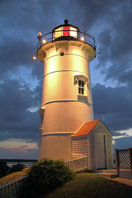 Art Print featuring the photograph Nobska Point Lighthouse by Roupen  Baker