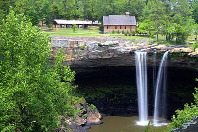 Noccolula Falls Gadsden Alabama Art Print