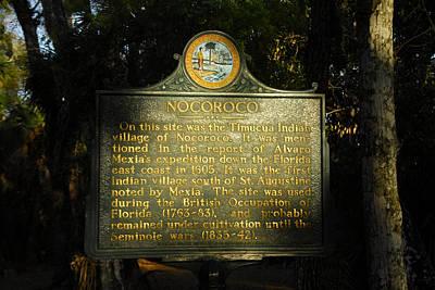 Photograph - Nocoroco Village Site 1605 by David Lee Thompson