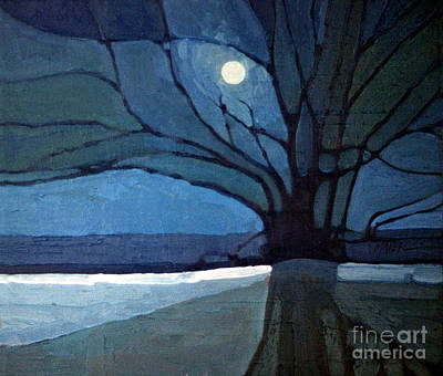 Moonlit Painting - Nocturne 71 by Donald Maier