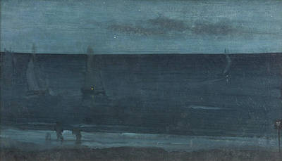 Sundown Painting - Nocturne In Blue And Silver - Bognor by James Abbott McNeill Whistler