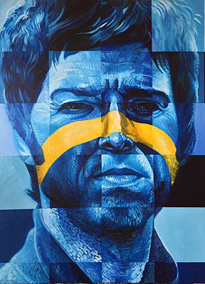 Painting - Noel Gallagher by Steve Hunter