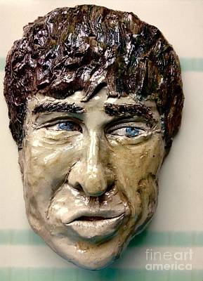 Ceramic Art - Noel by Joan-Violet Stretch