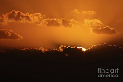 Hiding Photograph - November Sunrise by Deborah Benoit