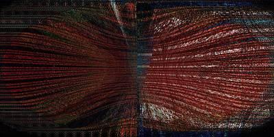 Loom Digital Art - Noir Beans by Joshua David Moore