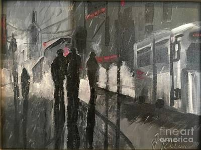 Painting - Noir by Joanne Killian