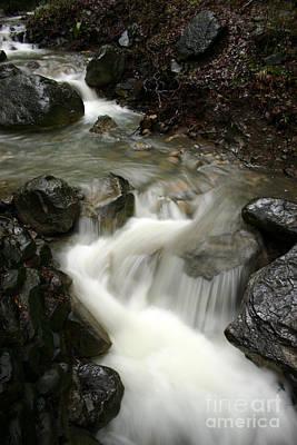 Photograph - Nojoqui Falls - Large by Balanced Art