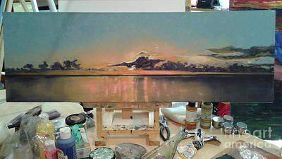 Annette Kinship Wall Art - Photograph - Nokomis Sunset Captured by Annette Kinship