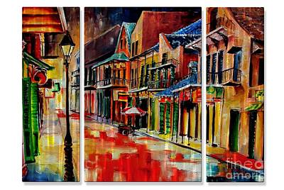 Mixed Media - Nola 3 by Dt