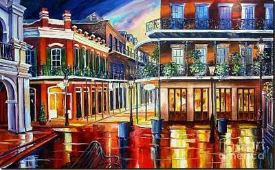Mixed Media - Nola 6 by Dt