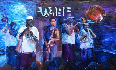 Nola Jazz Band Original by Lauren Luna