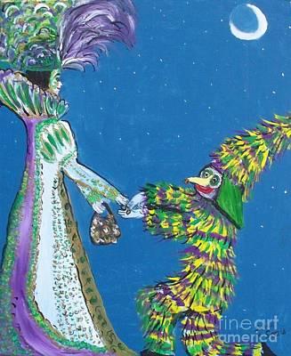 Nola Meets Mamou Art Print