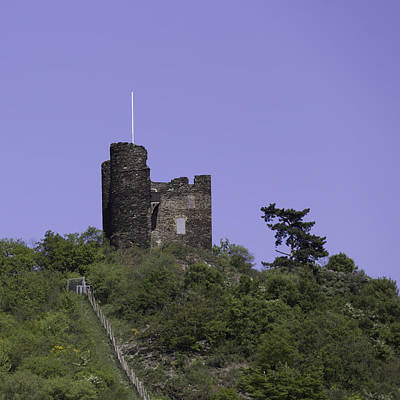Taunus Photograph - Nollig Castle Ruin by Teresa Mucha