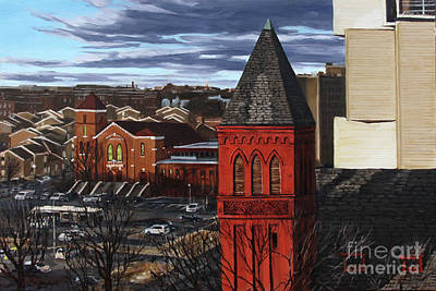 Painting - Noma View, North Capitol Street by Christopher Buoscio