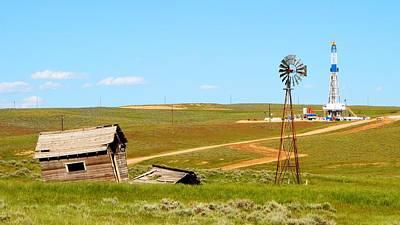 Photograph - Nomac 302 Douglas Wyoming I by Lanita Williams