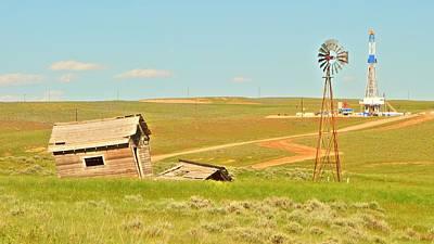 Photograph - Nomac 302 Douglas Wyoming II by Lanita Williams